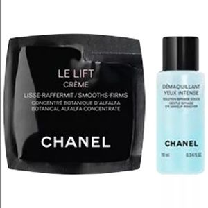 Chanel Le Lift Crème Sample and Makeup Remover